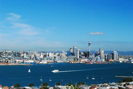 View from Devonport, Auckland