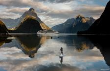 Mirrored Waters of Milford Sound, Fiordland