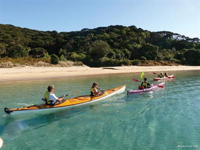 Kayaking Through The Bay of Islands, Northland