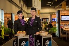 Hosted Buyers can experience world class air travel thanks to our Principal Sponsor, Air New Zealand