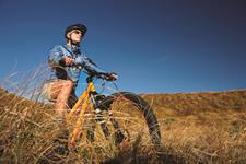 Enjoy biking trails