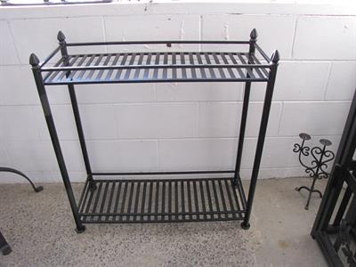 Pot plant stand: outdoor