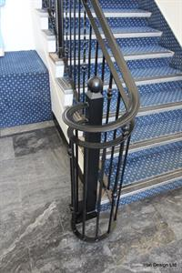 balustrade return