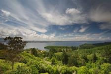 stunning lake and mountain views