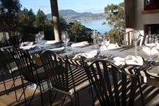 Breakfast overlooking Lake Taupo