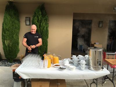 Big breakfast morning for Tuscany Villas event