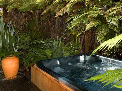 Relax and unwind in the guesthouse spa