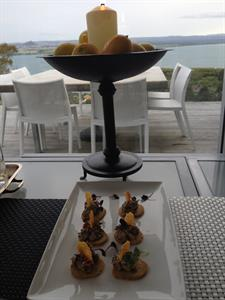 complementary canapes