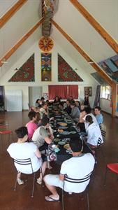 Group at Marae