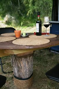 A table set for two