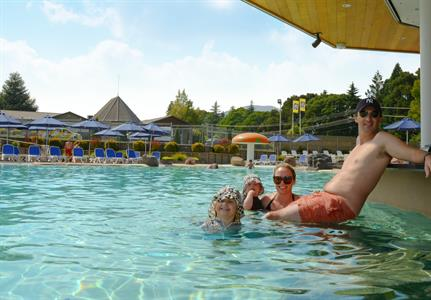 Relax & Enjoy Our Swim Up Bar & Cafe