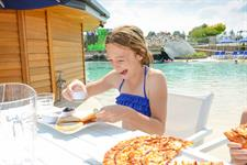 Delicious Food Offered At Our Swim Up Bar & Cafe