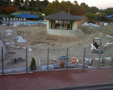 Lusty's Lagoon In Progress