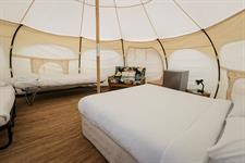 Glamping Dome Tent Interior
