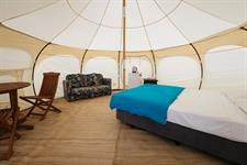 Glamping Dome Tent Interior II
