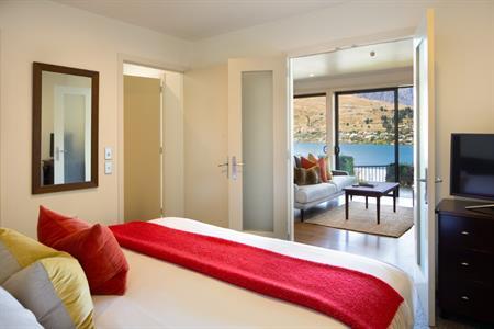 1 BR Bedroom & view Feb 2021 Villa del Lago