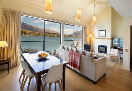 2 & 3 BR Villa Living & Dining Feb 2021 Villa del Lago