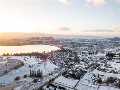 The Park - Aerial 3 Mt. Aspiring Holiday Park