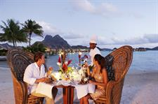 h - Bora Bora Pearl Beach & Spa - beach dinner