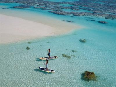 d - The Brando on Tetiaro Private Island - paddle