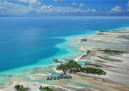 a - Tikehau - Tikehau Pearl Beach Resort - aerial Tikehau Pearl Beach Resort
