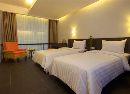Swiss-Belinn Medan Deluxe Twin Bed Swiss-Belinn Medan