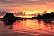 a - Conrad Bora Bora Nui - Sunset (1) Conrad Bora Bora Nui