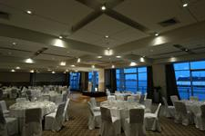 Aquamarine Rooms Caberet Dinner Set Up