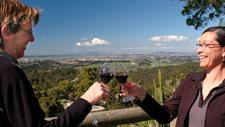 View Over a Wine