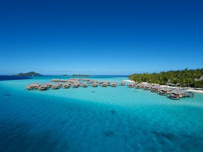 Bora Bora From The Air - Tahiti Pearl Beach Resort 22 Bora Bora Pearl Beach