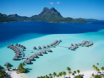 Bora Bora From The Air - Tahiti Pearl Beach Resort 31 Bora Bora Pearl Beach