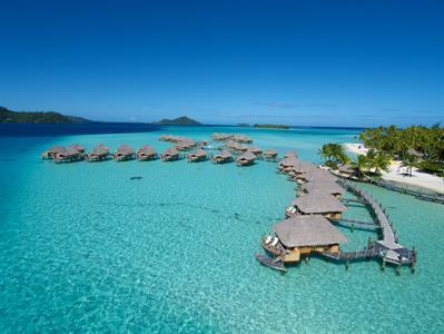 Bora Bora From The Air - Tahiti Pearl Beach Resort 29 Bora Bora Pearl Beach