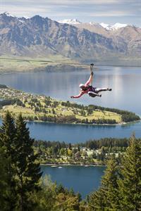 Ziptrek Ecotours Superman style Ziptrek Ecotours