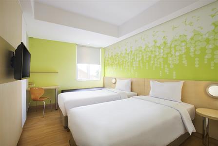 Zest Twin Room Zest Bogor