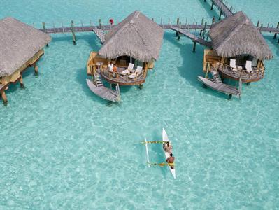 Bora Bora From The Air - Tahiti Pearl Beach Resort 95 Bora Bora Pearl Beach