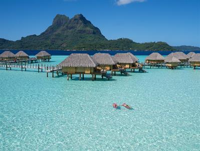 Bora Bora From The Air - Tahiti Pearl Beach Resort 39 Bora Bora Pearl Beach