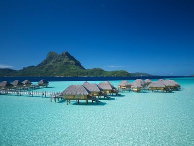 Bora Bora From The Air - Tahiti Pearl Beach Resort 116 Bora Bora Pearl Beach