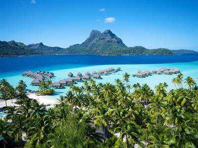 Bora Bora From The Air - Tahiti Pearl Beach Resort 117 Bora Bora Pearl Beach