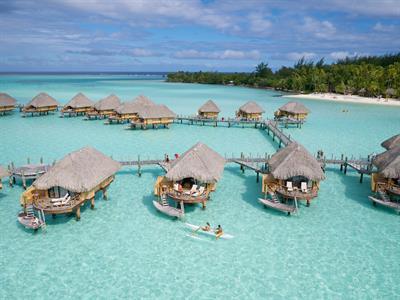 Bora Bora From The Air - Tahiti Pearl Beach Resort 96 Bora Bora Pearl Beach