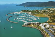 Abell Point Marina Aerial-with-lawn2 Whitsunday Paradise Explorer