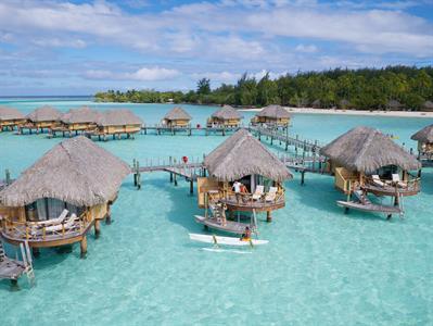 Bora Bora Accommodation - Tahiti Pearl Beach Resort - Overwater Bungalow (1) Bora Bora Pearl Beach