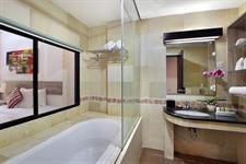 Laguna Pool Access Bathroom