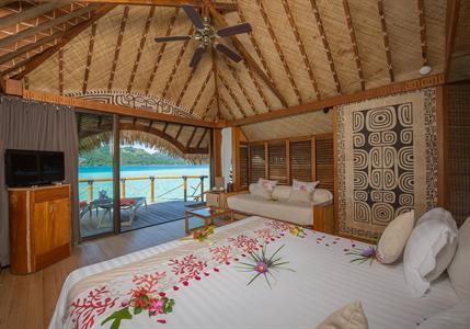 Overwater Bungalow - Bora Bora Pearl Beach Resort & Spa Bora Bora Pearl Beach Resort & Spa