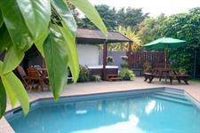 Pool area Academy Motor Inn Tauranga Motel