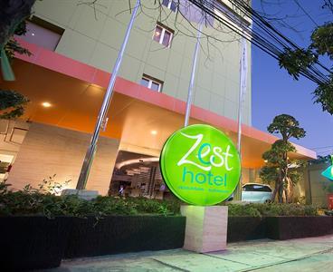 Hotel Exterior Zest Jemursari, Surabaya
