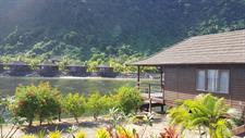 Aga Reef Resort - View from offshore Island Aga Reef Resort