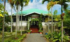 Samoa Outrigger - Entrance Samoan Outrigger Hotel