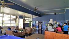 Samoa Outrigger - Reception area Samoan Outrigger Hotel