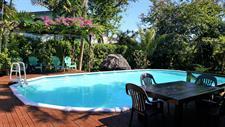 Samoa Outrigger - Pool Area Samoan Outrigger Hotel