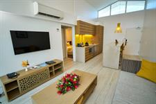 Taumeasina - 2 Bedroom Villa Lounge Taumeasina Island Resort